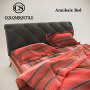 Annibale Bed 3d model