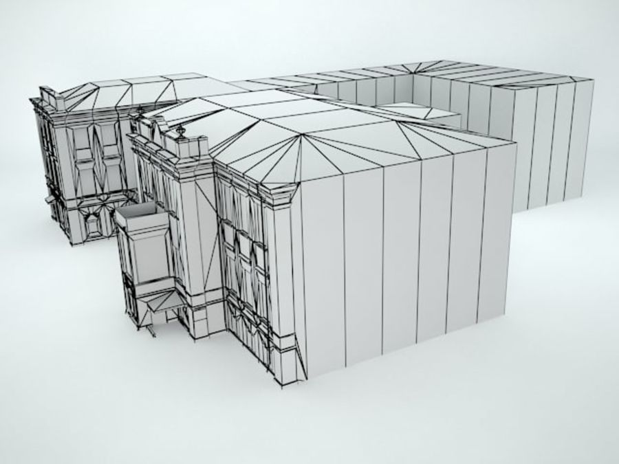 museum  building royalty-free 3d model - Preview no. 13