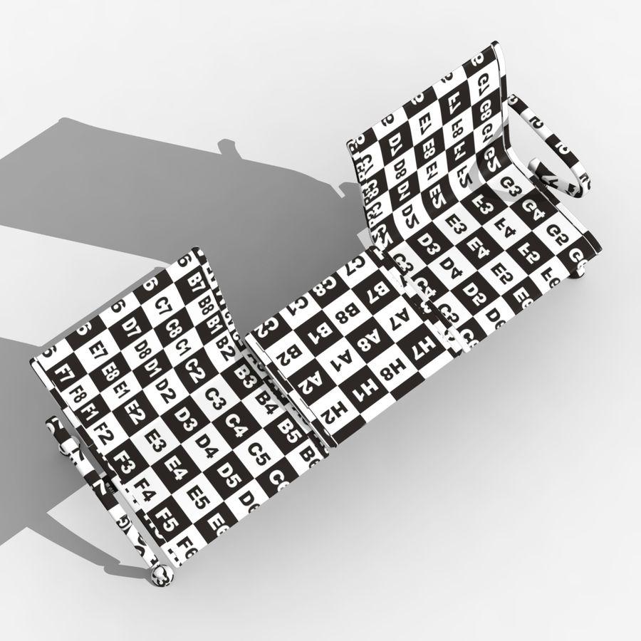 Modelo de asiento de aeropuerto royalty-free modelo 3d - Preview no. 8