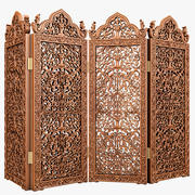Carved Dressing Screen 3d model