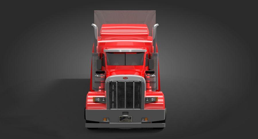 Semitruck royalty-free 3d model - Preview no. 8