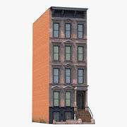 House Brownstone 3d model
