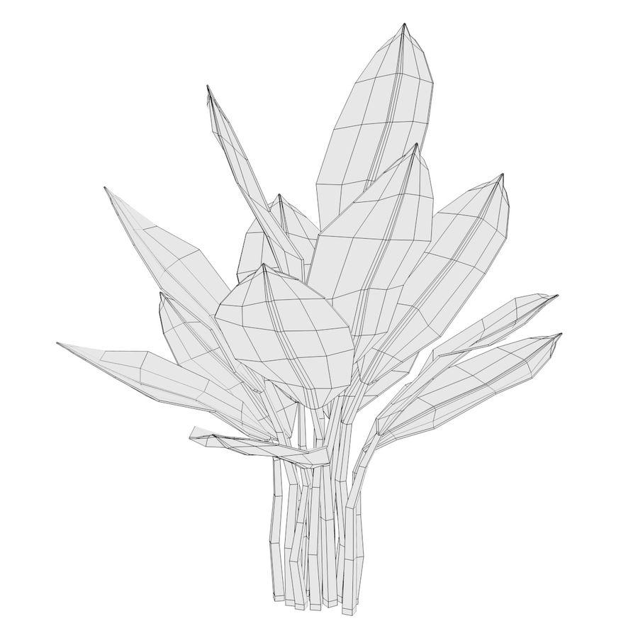 Aquatic Plants royalty-free 3d model - Preview no. 15