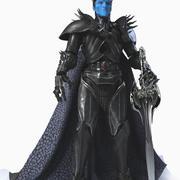 Roi de la glace 3d model