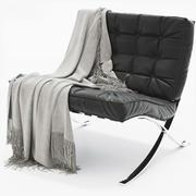 krzesło barcelona 3d model