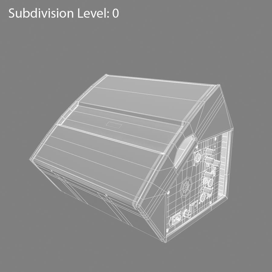 Floor Speaker royalty-free 3d model - Preview no. 3