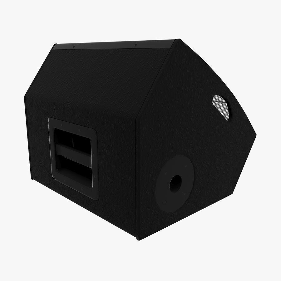 Floor Speaker royalty-free 3d model - Preview no. 9