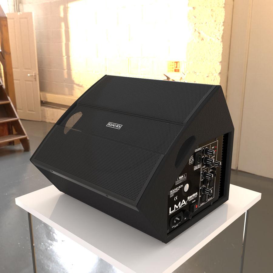 Floor Speaker royalty-free 3d model - Preview no. 2