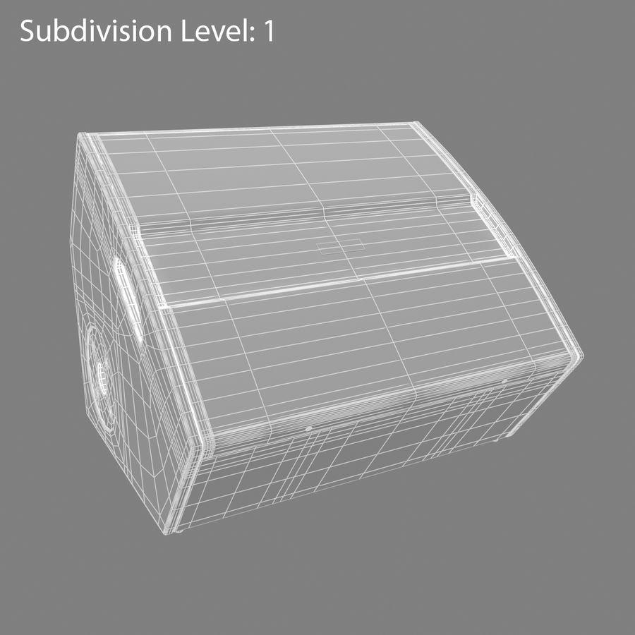 Floor Speaker royalty-free 3d model - Preview no. 8