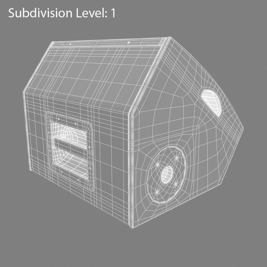 Floor Speaker royalty-free 3d model - Preview no. 11