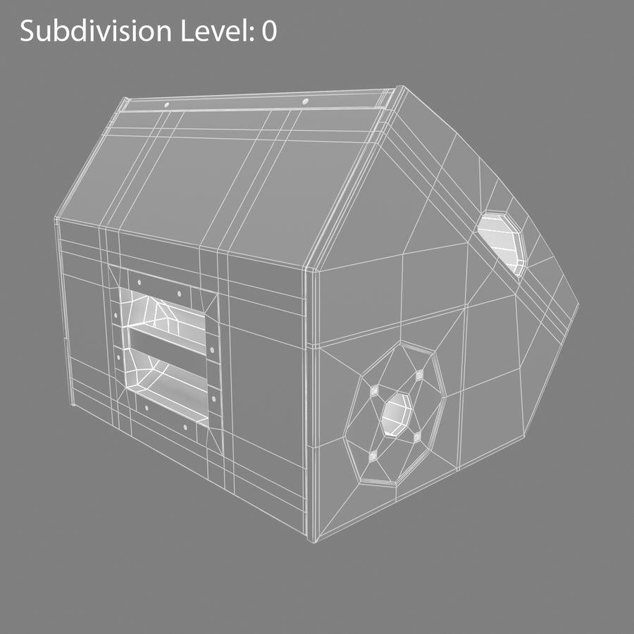 Floor Speaker royalty-free 3d model - Preview no. 10