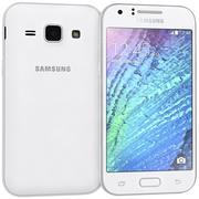 Samsung Galaxy J1 White 3d model