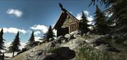 バイキング中世の村 3d model