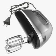 Handmixer Chrome 3d model