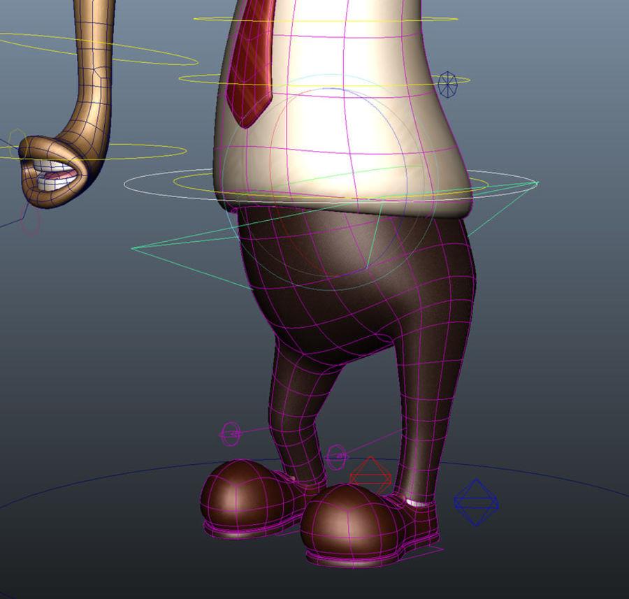 Personaggio dei cartoni animati formichiere modello d