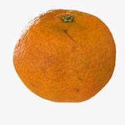 Gerçekçi mandalina 3d model