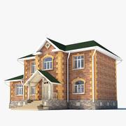 Klasyczny dom 2 3d model