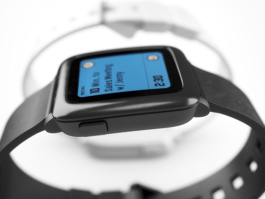 PEBBLE time royalty-free 3d model - Preview no. 18