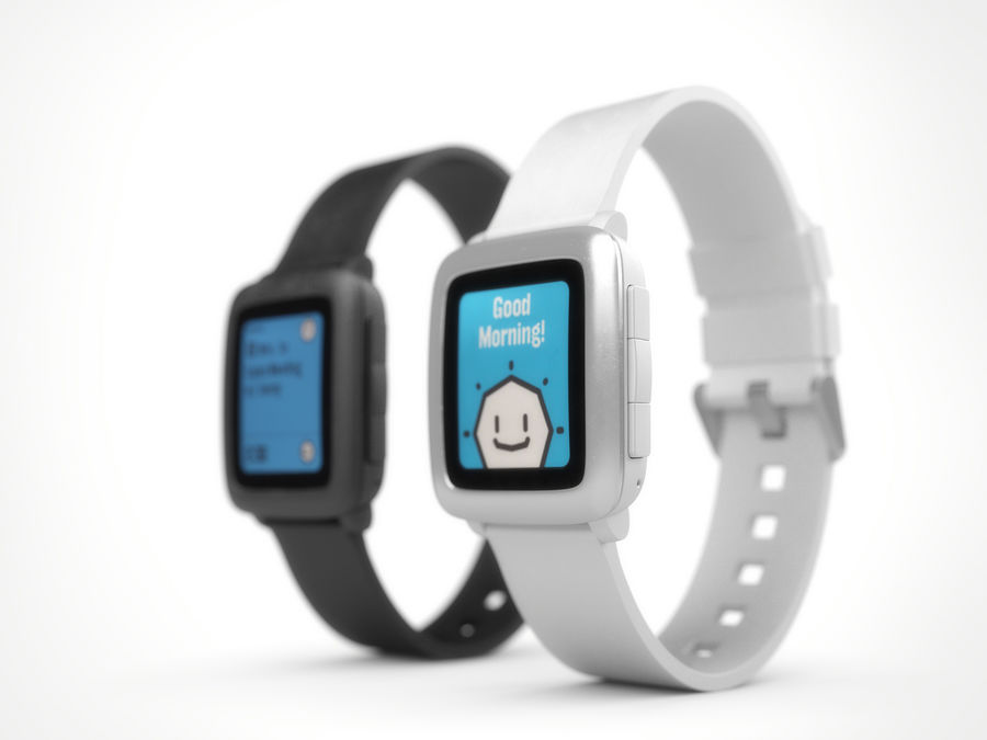 PEBBLE time royalty-free 3d model - Preview no. 2