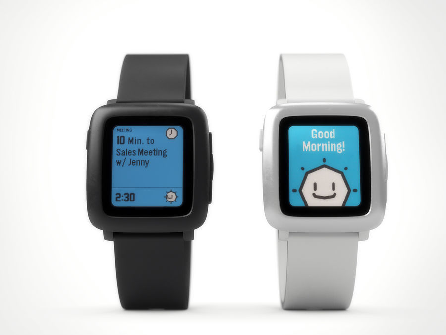PEBBLE time royalty-free 3d model - Preview no. 6