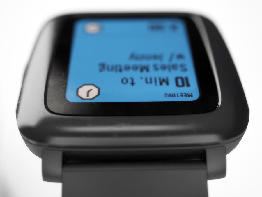 PEBBLE time royalty-free 3d model - Preview no. 16