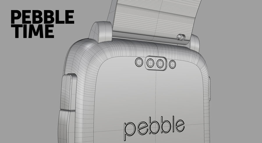 PEBBLE time royalty-free 3d model - Preview no. 11