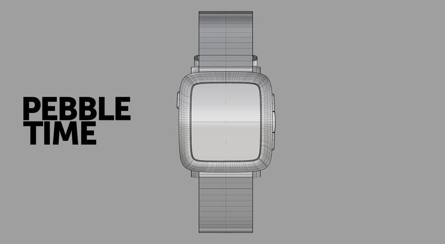 PEBBLE time royalty-free 3d model - Preview no. 9