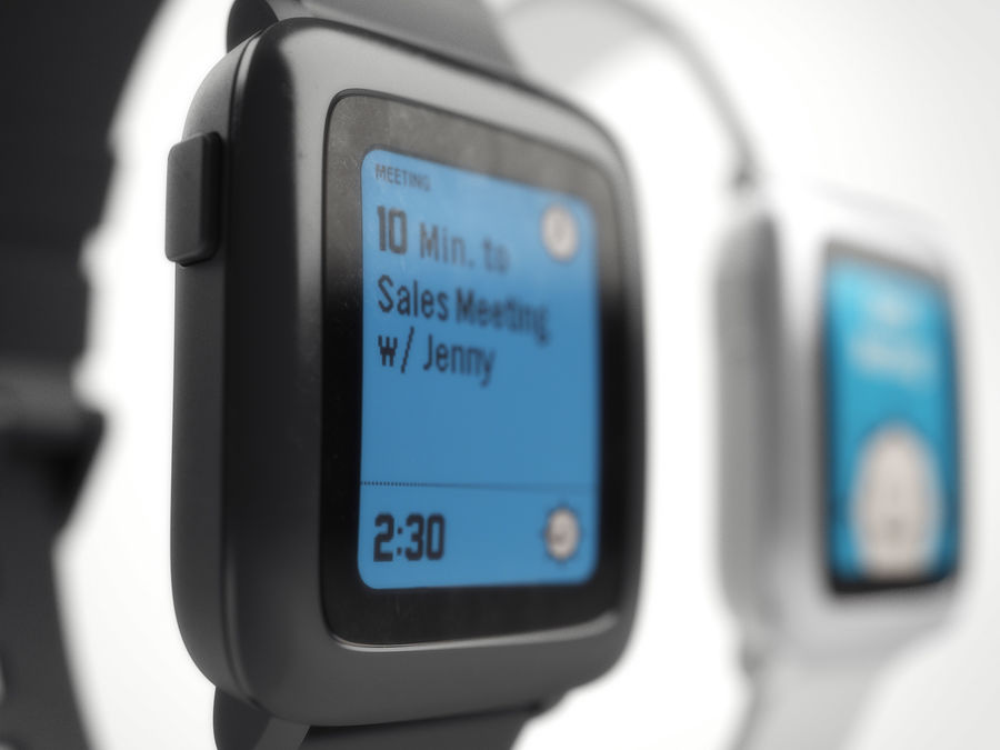 PEBBLE time royalty-free 3d model - Preview no. 8