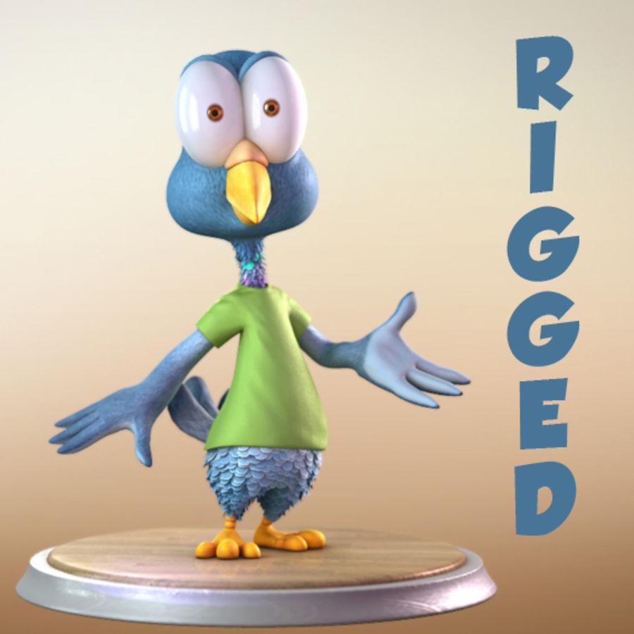 Maya Cartoon Pigeon Character 3D Model $49 -  unknown  ma