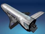X-37B 3d model