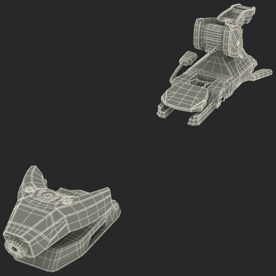 Snow Ski Boot Binding 3D Model $29 -  c4d  ma  max  obj  3ds