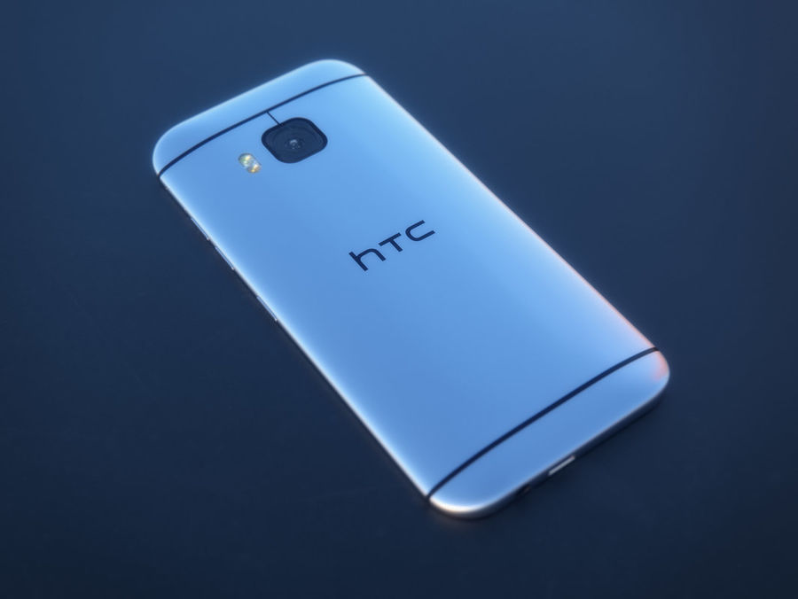 HTC One M9 royalty-free 3d model - Preview no. 16