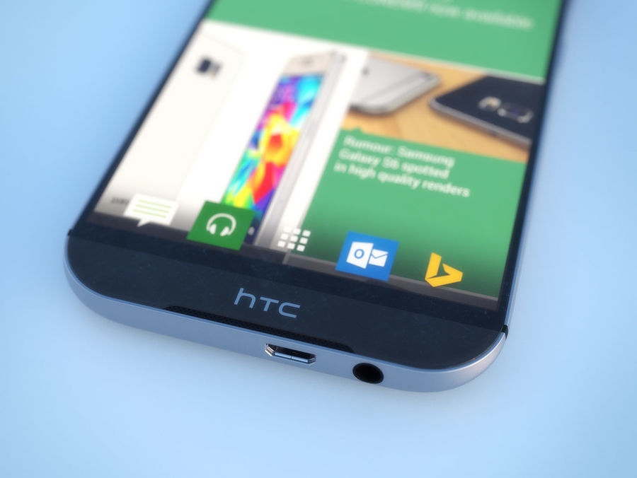 HTC One M9 royalty-free 3d model - Preview no. 11