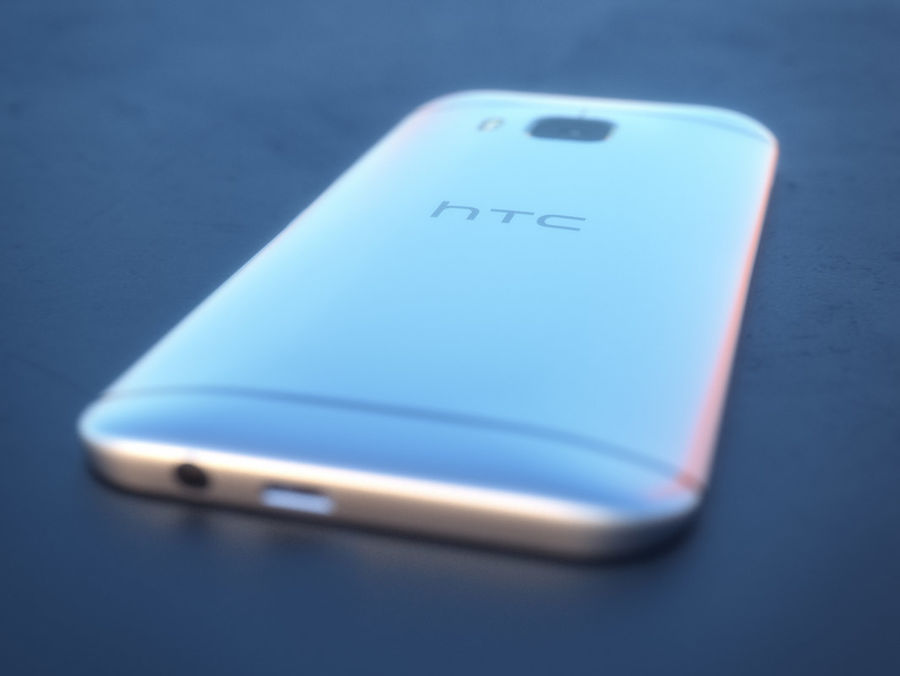 HTC One M9 royalty-free 3d model - Preview no. 13