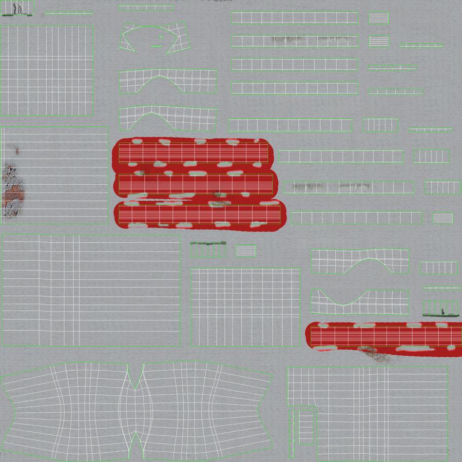 石油貯蔵タンク3Dモデル royalty-free 3d model - Preview no. 29