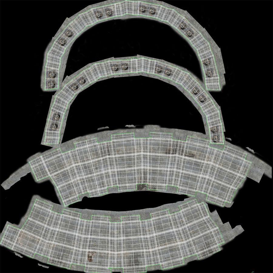 石油貯蔵タンク3Dモデル royalty-free 3d model - Preview no. 30