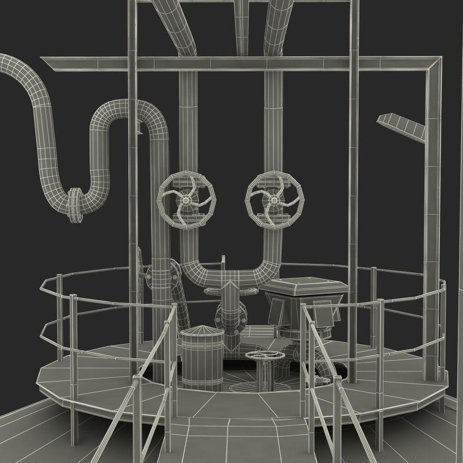 石油貯蔵タンク3Dモデル royalty-free 3d model - Preview no. 47