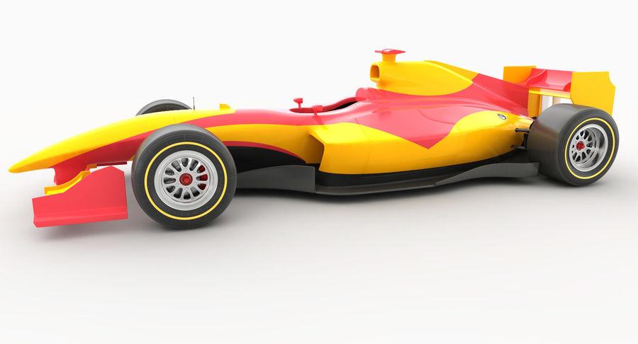 Generic F1 car royalty-free 3d model - Preview no. 3