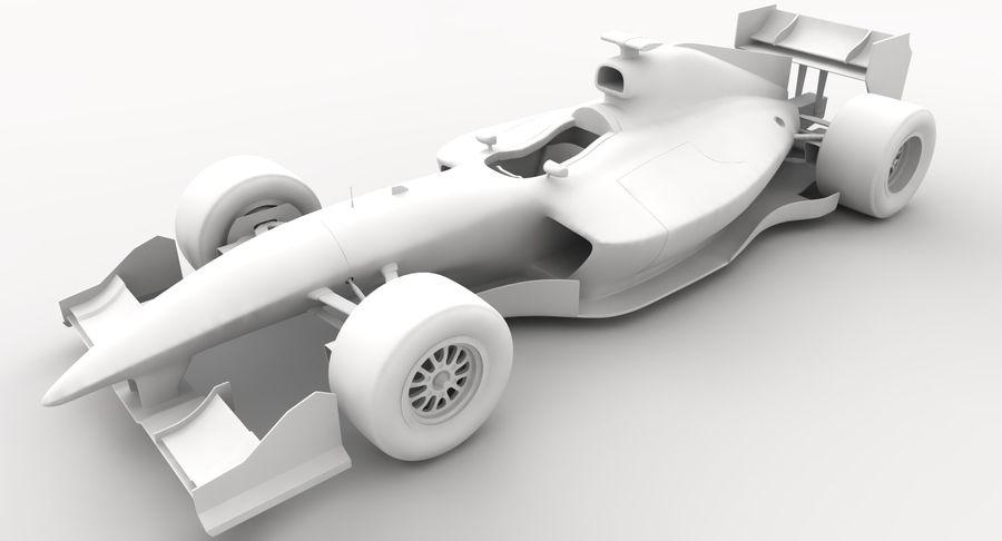 Generic F1 car royalty-free 3d model - Preview no. 18