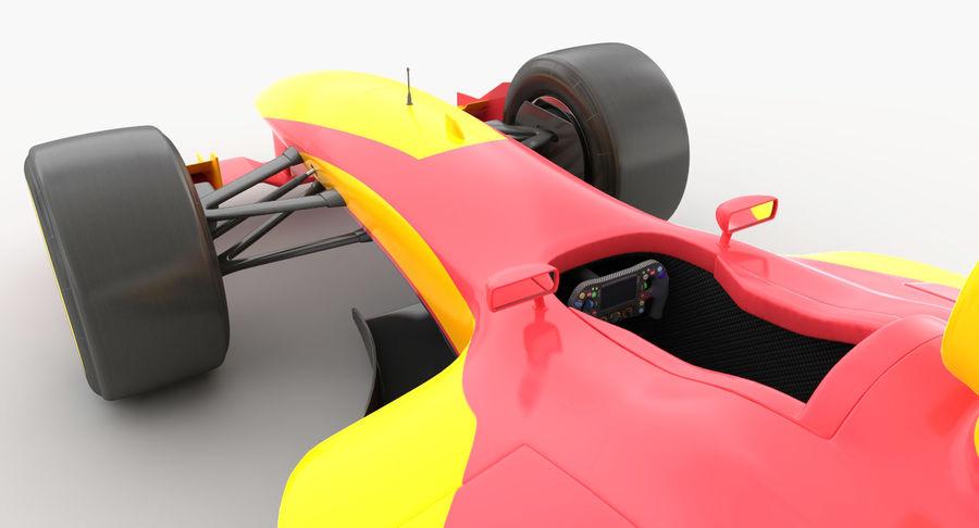 Generic F1 car royalty-free 3d model - Preview no. 14