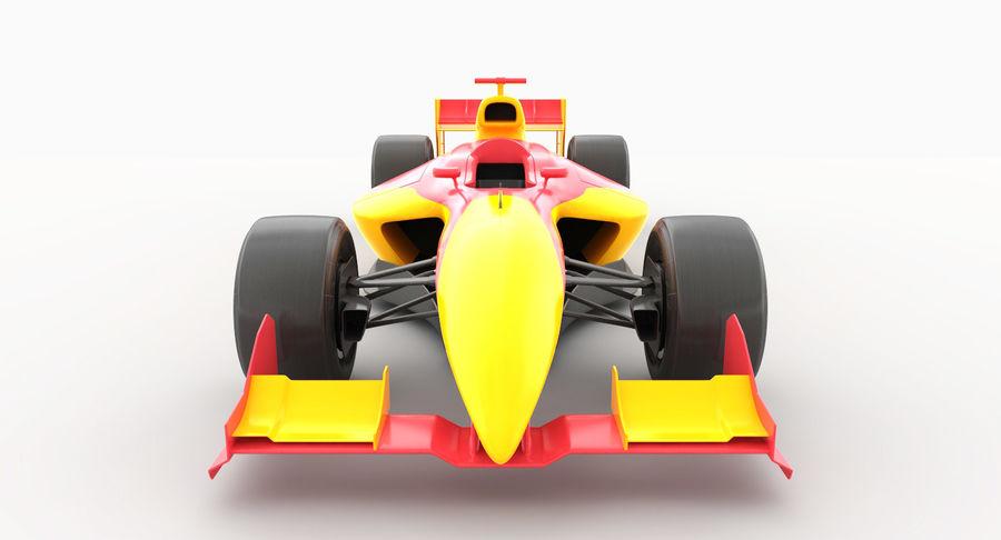 Generic F1 car royalty-free 3d model - Preview no. 9
