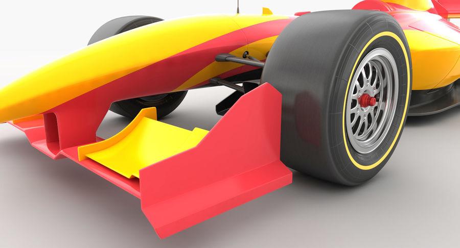 Generic F1 car royalty-free 3d model - Preview no. 11