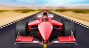 Generic F1 car 3d model