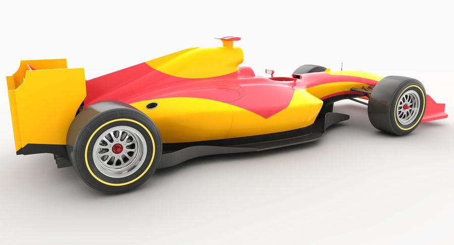 Generic F1 car royalty-free 3d model - Preview no. 6