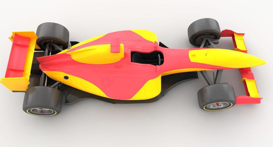 Generic F1 car royalty-free 3d model - Preview no. 10