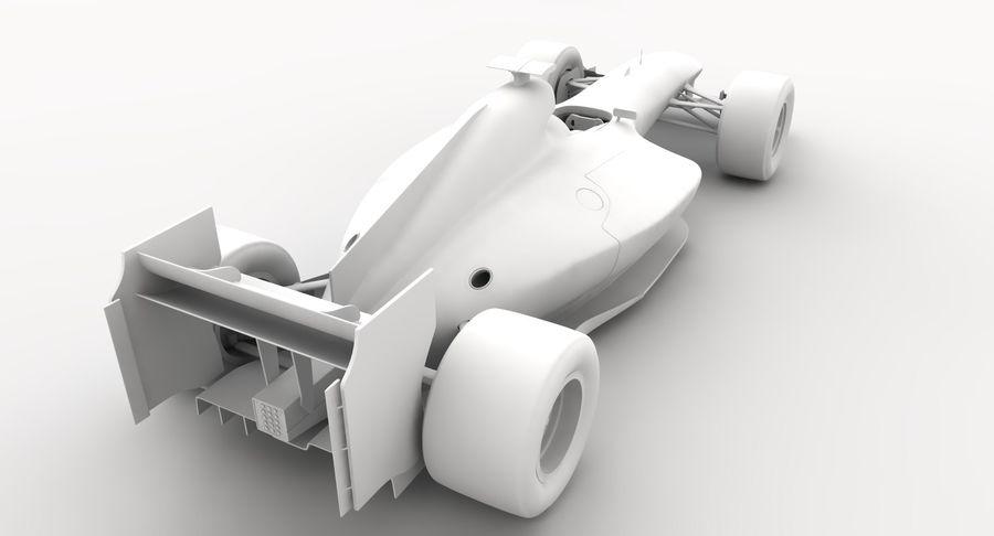 Generic F1 car royalty-free 3d model - Preview no. 20