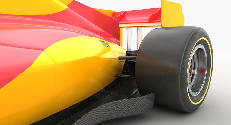 Generic F1 car royalty-free 3d model - Preview no. 12