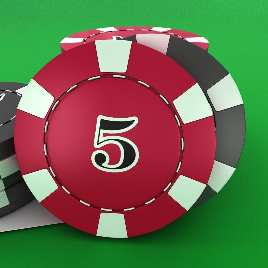 Grać w karty royalty-free 3d model - Preview no. 7