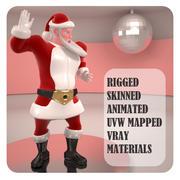 圣诞老人 3d model
