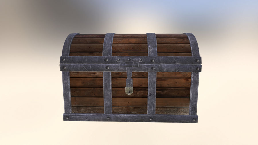 Chest royalty-free 3d model - Preview no. 1
